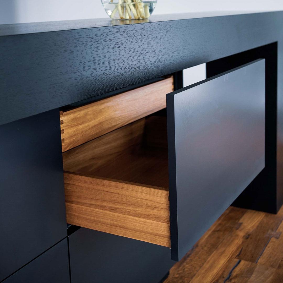 Schublade aus der Küchenmanufaktur