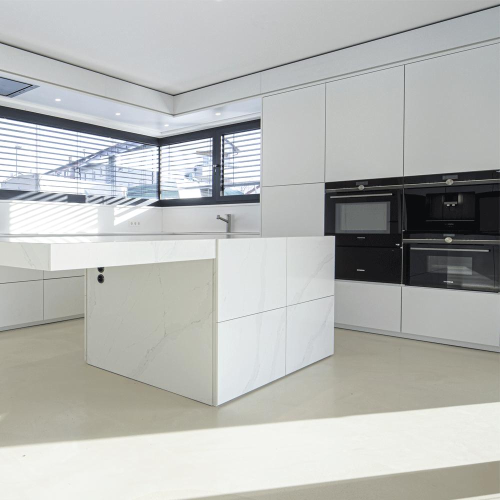 Luxusküche aus der Küchenmanufaktur