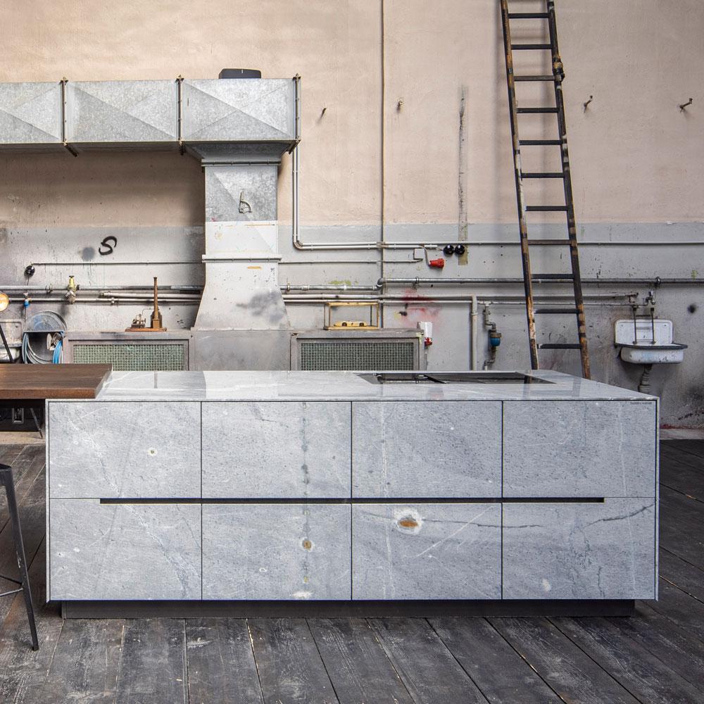 Beispiel Luxusküche aus der Küchenmanufaktur